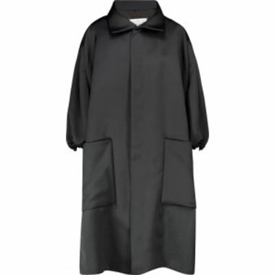 メゾン マルジェラ Maison Margiela レディース コート アウター Satin coat Black
