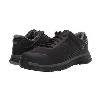Timberland PRO ティンバーランド メンズ 男性用 シューズ 靴 スニーカー 運動靴 Drivetrain Composite Safety Toe - Black/Grey