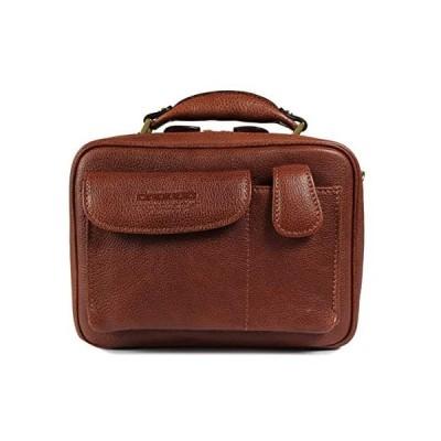 青木鞄(Lugard)レザーショルダーバッグ メンズ [NEVADA No.5076] (ブラウン)
