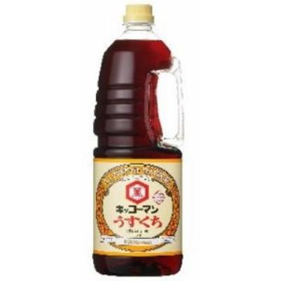 キッコーマン) 醤油 うすくち 1.8L