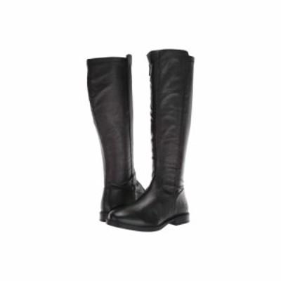 ハッシュパピー Hush Puppies レディース ブーツ シューズ・靴 Bailey Stretch Boot Black Leather/Stretch