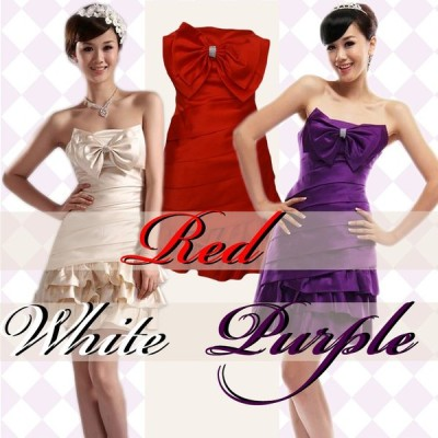 パーティードレス 3色  ミニドレス カクテルドレス イブニングドレス キャバドレス