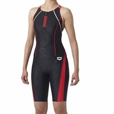 【送料無料】トレーニング 競泳用 水着 レディース セイフリーバックスパッツ フロントファスナータイプ 着やストラップ
