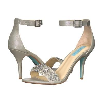 ベッツィ ジョンソン Blue by Betsey Johnson レディース シューズ・靴 Gina Silver
