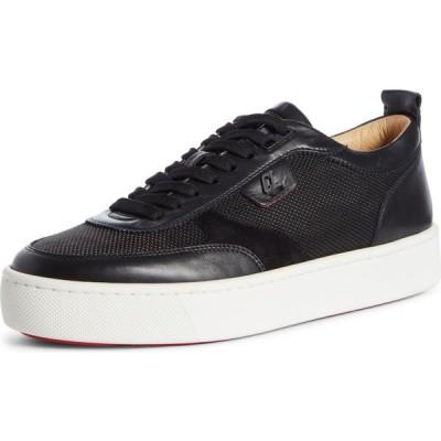 クリスチャン ルブタン CHRISTIAN LOUBOUTIN メンズ スニーカー シューズ・靴 Happyrui Sneaker Black