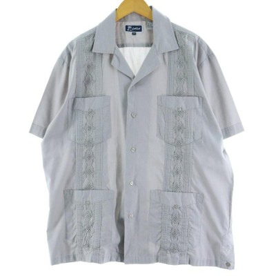 LADA メキシカンシャツ キューバシャツ メンズXL /eaa058843