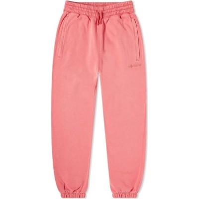アディダス Adidas メンズ スウェット・ジャージ ボトムス・パンツ Garment Dye Pant Pink