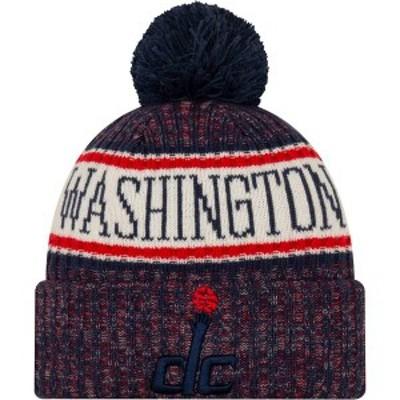 ニューエラ メンズ 帽子 アクセサリー New Era Men's Washington Wizards Sports Knit Hat