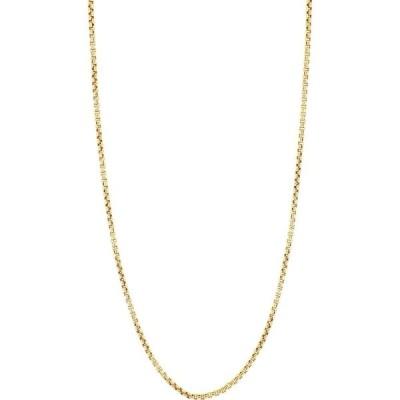 ボニー レヴィ BONY LEVY レディース ネックレス ジュエリー・アクセサリー 14K Gold Box Chain Necklace Yellow Gold