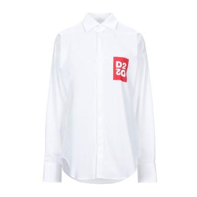 ディースクエアード DSQUARED2 シャツ ホワイト 38 コットン 100% シャツ