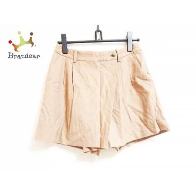 トゥモローランド ショートパンツ サイズ38 M レディース ライトブラウン collection       スペシャル特価 20200514