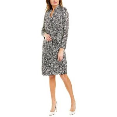 ダナキャラン レディース ワンピース トップス Donna Karan New York Wrap Dress mountain new ivory