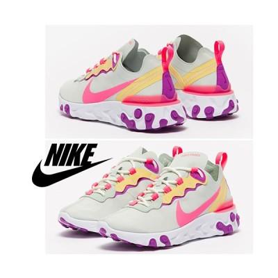 ナイキ Nike React Element 55 W / Pistachio Frost / 取寄品