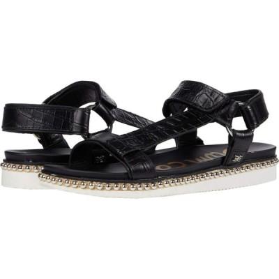 サム エデルマン Sam Edelman レディース サンダル・ミュール シューズ・靴 Annalise Black Shiro Croco Leather/Bally Premium Leather
