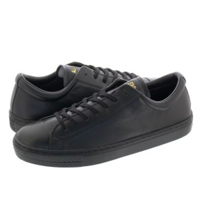 CONVERSE LEATHER ALL STAR COUPE OX コンバース レザー オールスター クップ OX BLACK 31301811