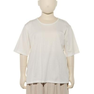 QUINTY[大きいサイズ] (クインティ) レディース 天竺Tシャツ オフ 6L~7L