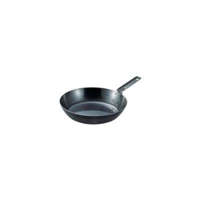 遠藤商事 《IH対応》 SA鉄黒皮オーブン用厚板フライパン 18cm <AHL94018>