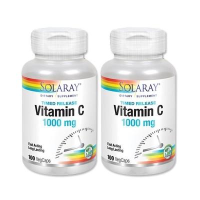 ビタミンC 1000mg 100粒 2段階タイムリリース型 2個セット