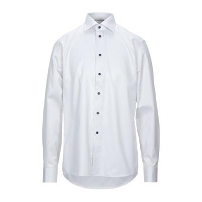 ETON シャツ ライトグレー 41 コットン 100% シャツ