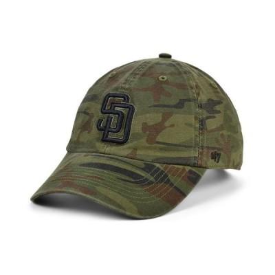 47ブランド メンズ 帽子 アクセサリー San Diego Padres Regiment CLEAN UP Cap