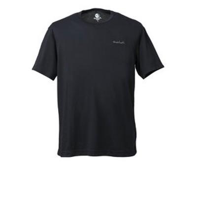 tシャツ 半袖 LOGO MESH TEE WE27JA08ブラック