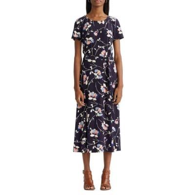 チャップス レディース ワンピース トップス Women's Jersey Fit and Flare Dress