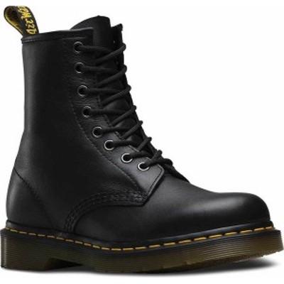 ドクターマーチン レディース ブーツ・レインブーツ シューズ Dr. Martens 1460 8-Eye Boot Black Nappa