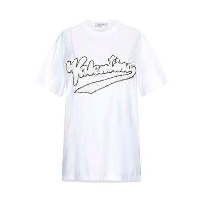 ヴァレンティノ VALENTINO T シャツ ホワイト XS コットン 100% T シャツ