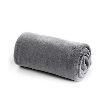 Bedsure 毛布 ひざ掛け ブランケット フランネル 冬用 70x100cm シングル おしゃれ プレミアムマイクロファイバー ?