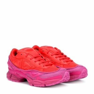 アディダス Adidas by Raf Simons レディース スニーカー シューズ・靴 RS Ozweego sneakers Glory/CloRed/ColRed
