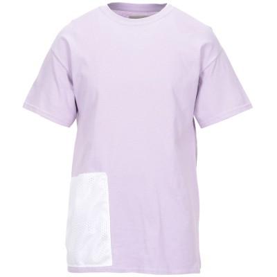CORELATE T シャツ ライラック XL コットン 100% T シャツ