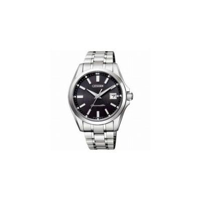 CITIZEN シチズン THE CITIZEN ザ・シチズン エコドライブ チタニウムモデル 和紙文字板 AQ4030-51E メンズ腕時計