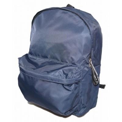 コムサイズム COMME CA ISM ポケッタブル リュックサック 紺  撥水加工 コンパクト 旅行 鞄 モノコムサ MONO COMME CA