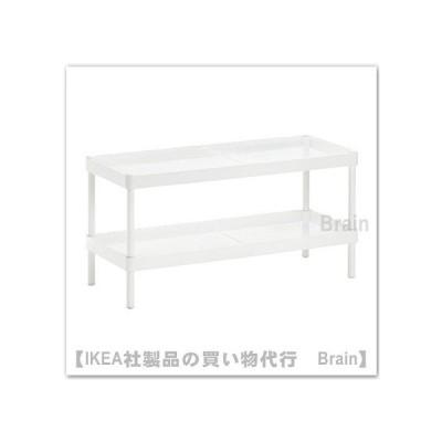 IKEA/イケア MACKAPAR シューズラック78x32cm ホワイト