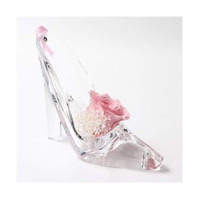 誕生日プレゼント フラワー 女性 誕生日 花 プリザーブドフラワー バラ アレンジメント (ピンク薔薇)