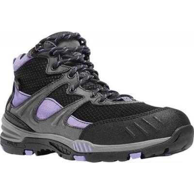 ダナー Danner レディース ブーツ ワークブーツ シューズ・靴 Springfield 4.5' Work Boot Gray/Lavender Leather/Textile/Synthetic