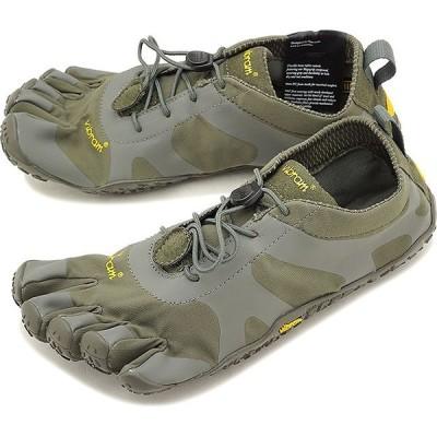 ビブラムファイブフィンガーズ メンズ Vibram FiveFingers V-ALPHA ベアフット 靴 Military/Dark Grey  18M7103 SS18