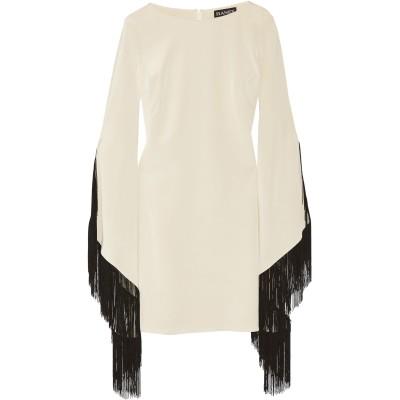 ハニー HANEY ミニワンピース&ドレス ベージュ 2 紡績繊維 ミニワンピース&ドレス