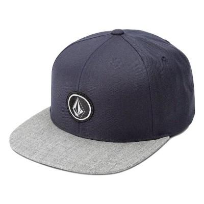 Volcom Quarter Twill Snapback Hat Cap Blue キャップ 送料無料