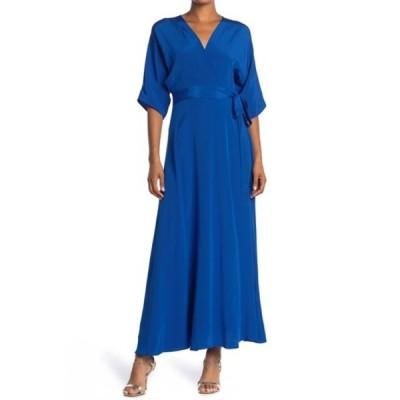 ダイアン フォン ファステンバーグ レディース ワンピース トップス Eloise Silk Maxi Wrap Dress EGYPT