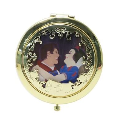 白雪姫 コンパクトミラー 王子 グッズ 手鏡 キャラクター ディズニープリンセス SHO-BI ダブルミラー