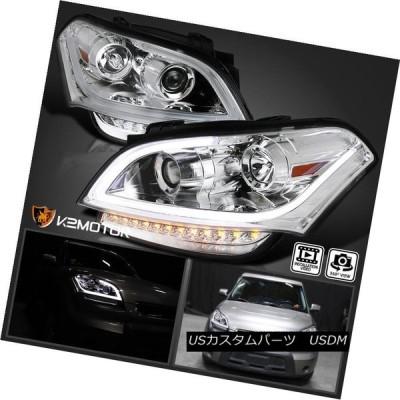 ヘッドライト 2010-2011年Kia Soul LEDライトバークリスタルプロジェクターヘッドライト左+右 For 2010-2011 Kia S