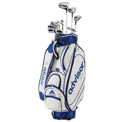 アドバイザー メンズ レフティ ゴルフクラブ RX-1 LH 11本セット《キャディバッグ付》R