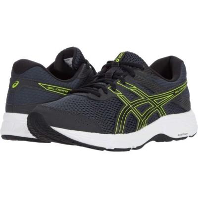 アシックス ASICS メンズ ランニング・ウォーキング シューズ・靴 GEL-Contend 6 Graphite Grey/Lime Zest