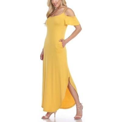 ホワイトマーク ワンピース トップス レディース Lexi Maxi Dress Mustard