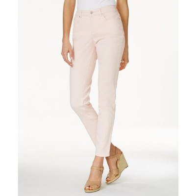 チャータークラブ デニムパンツ ボトムス レディース Bristol Skinny Ankle Jeans Misty Pink