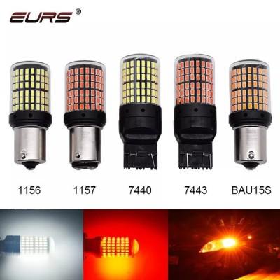 1 × 3014 144smd canbus S25 1156 BA15S P21W LED BAY15D BAU15S PY21WランプT20 le