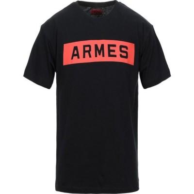 フォートゥーフォー 424 FOURTWOFOUR メンズ Tシャツ トップス t-shirt Black