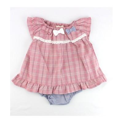 【Si・Shu・Non】 スカラップブルマスーツ Si・Shu・Non 【ベビー服】Babywear