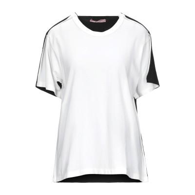 ROSE' A POIS T シャツ ホワイト 40 コットン 94% / ポリウレタン 6% T シャツ